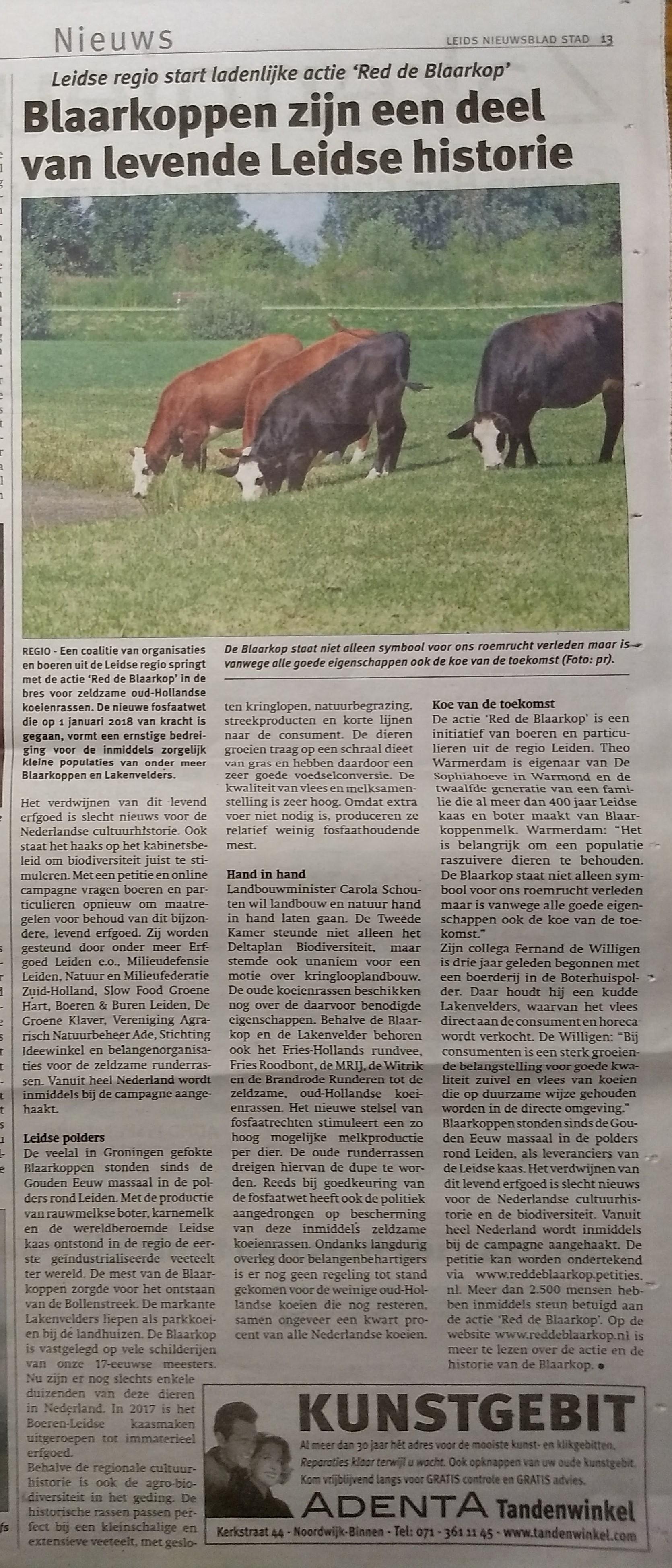 171228 Leids Nieuwsblad